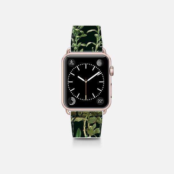 Dark Botanical Garden Watch Band