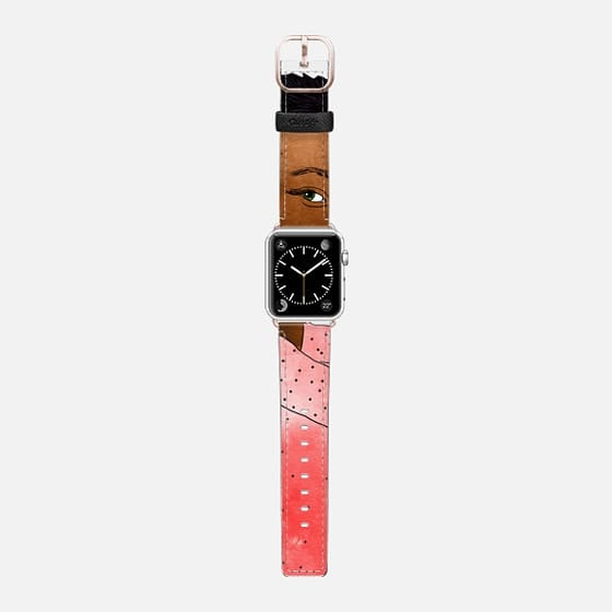 Egalitarism Watch Band - Saffiano Leather Watch Band