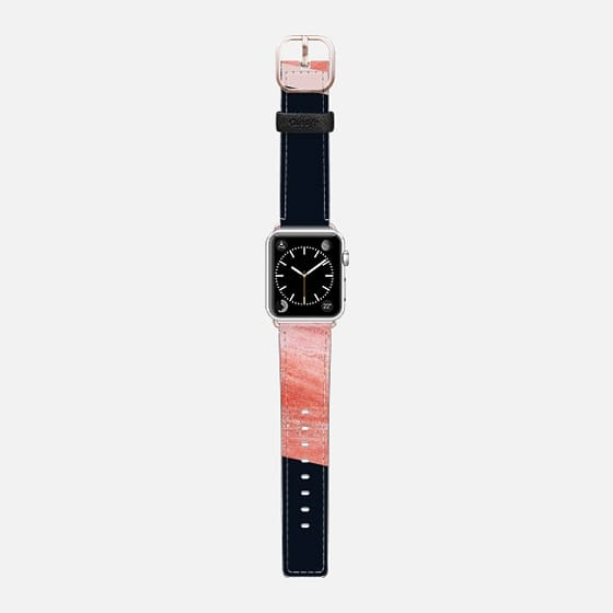 iNDULGE & vICE Watch Band - Saffiano Leather Watch Band