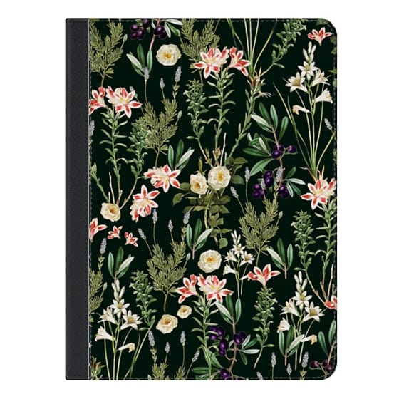 Dark Botanical Garden iPad Case
