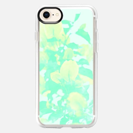 Mint Bougainvillea iPhone & iPod Case - Snap Case