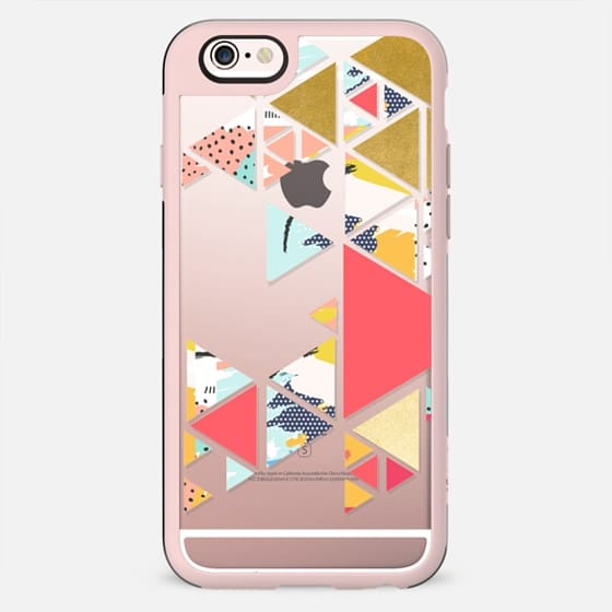 Gold Abstraction iPhone and iPod Case - New Standard Case