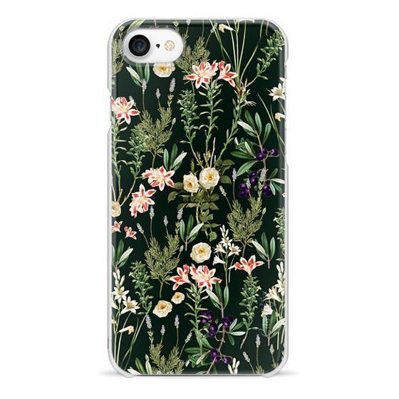 iPhone 7 Cases - Dark Botanical Garden iPhone and iPod VS Case