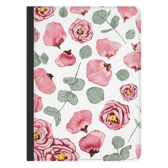 Rosy Romance iPad Case