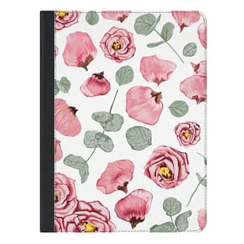 iPad Pro 9.7 Case - Rosy Romance iPad Case