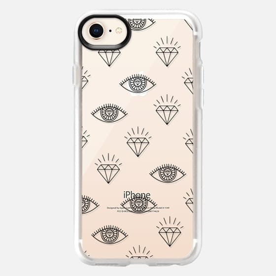 Diamond Eyes iPhone and iPod Case - Snap Case