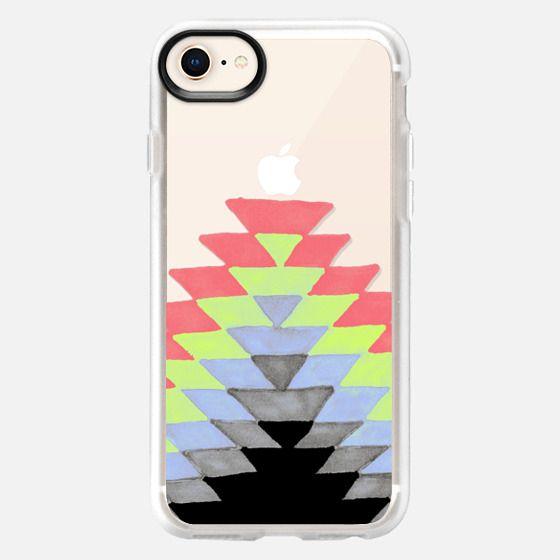 Tribal Sunrise - Periwinkle-Lime - Snap Case