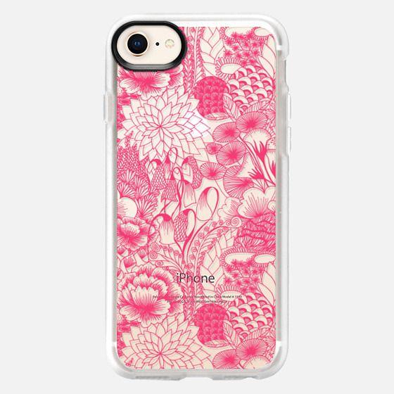 PINK Floral - Breast Cancer Awareness - Snap Case