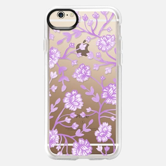 Watercolor Peony - Lilac - Classic Grip Case