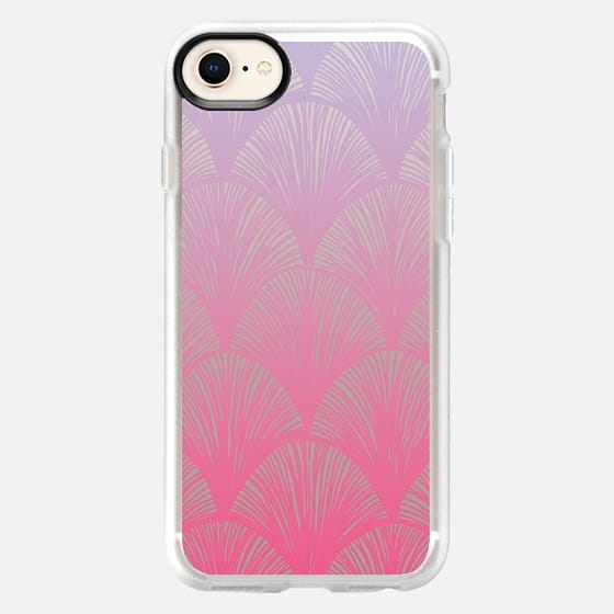 Pink Scales - Galaxy S7 Edge - Snap Case