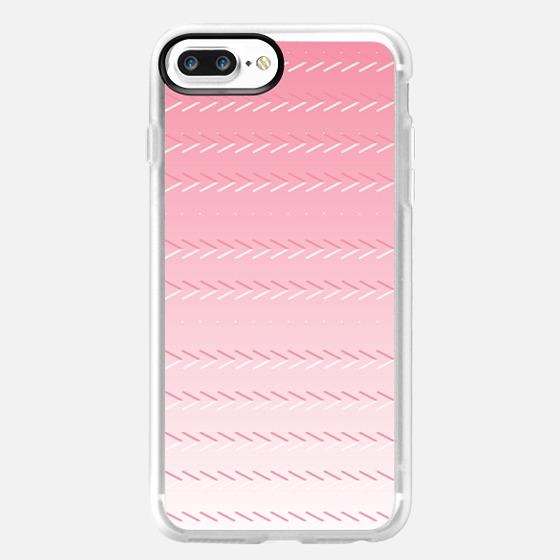 Dégradé de rose - Glitter Case