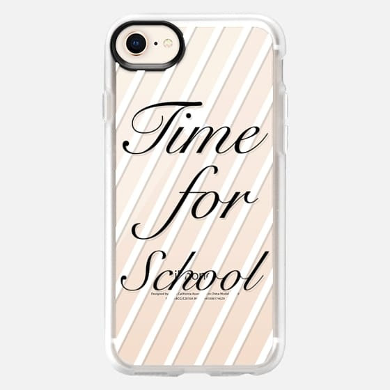 Time for school - Back to school - Snap Case