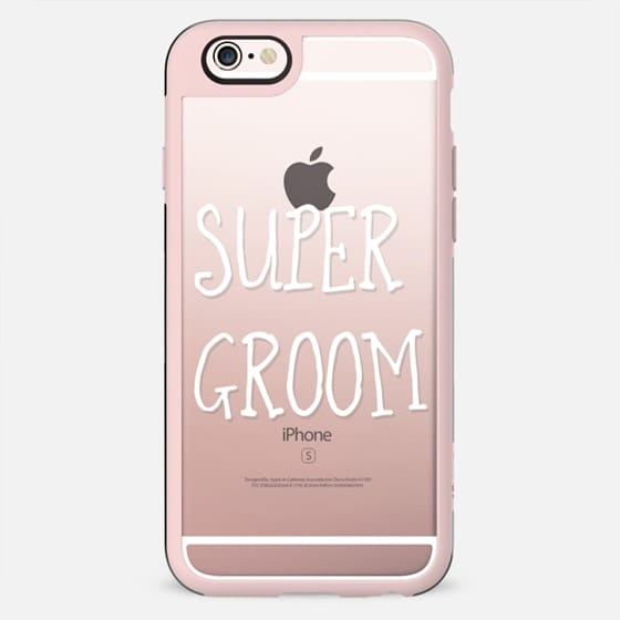 Super Groom - wedding - New Standard Case