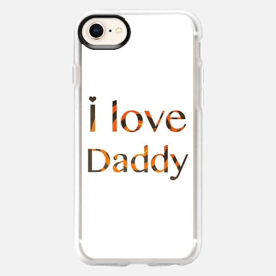 I love daddy - Happy Father's Day - Snap Case