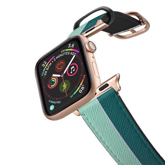 Apple Watch 42mm Bands - Green duet apple watch band
