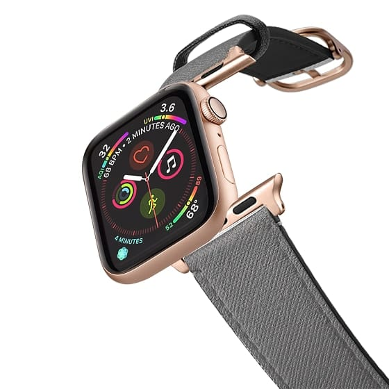 Apple Watch 42mm Bands - Grey texture apple watch band