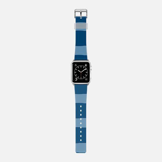 Summer blue stripes watch -