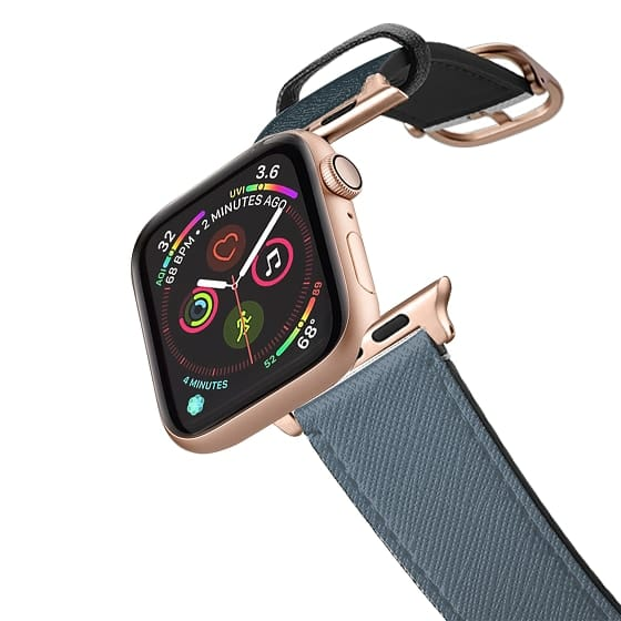 Apple Watch 38mm Bands - Dark blue and blue grey apple watch band