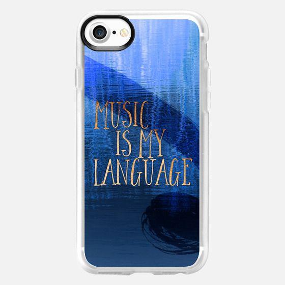 Music is my language - Classic Grip Case