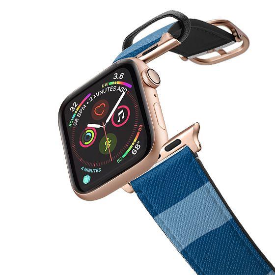 Apple Watch 42mm Bands - Summer blue stripes watch