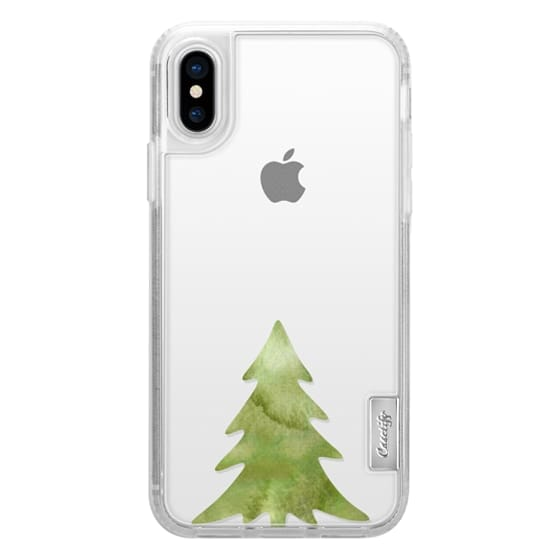 Christmas Iphone X Case.Classic Grip Iphone X Case Christmas Tree