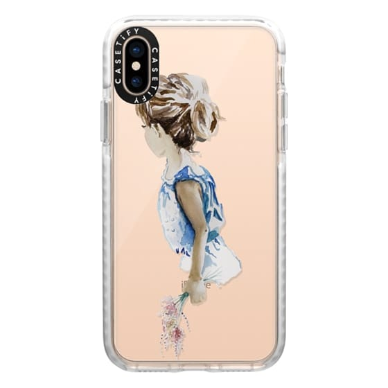 iPhone XS Cases - Flower Girl