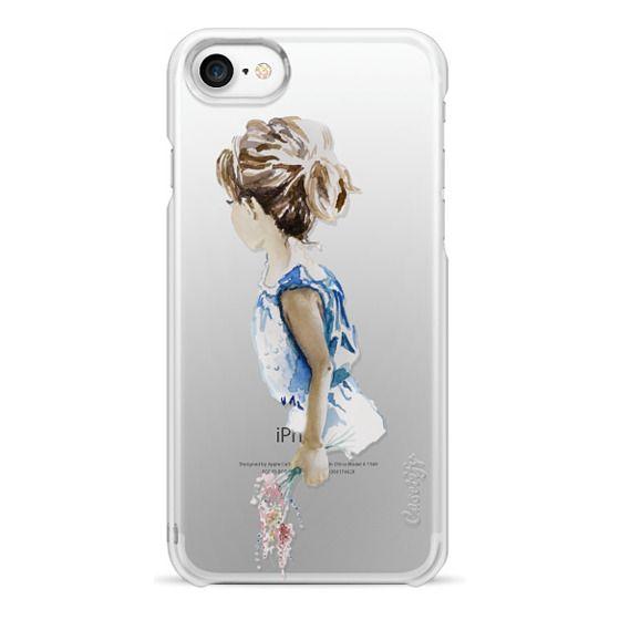 iPhone 7 Cases - Flower Girl