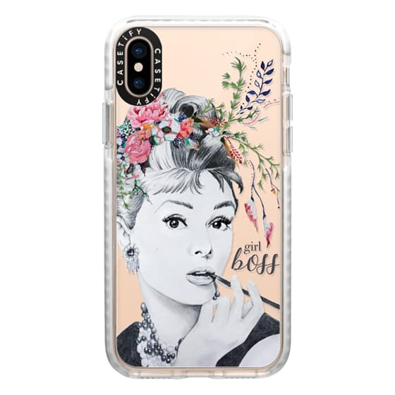 iPhone XS Cases - girl boss