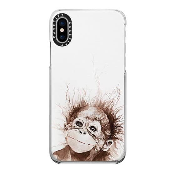 iPhone X Cases - monkey business