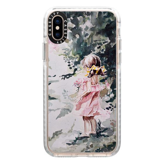 iPhone XS Cases - Wildflower