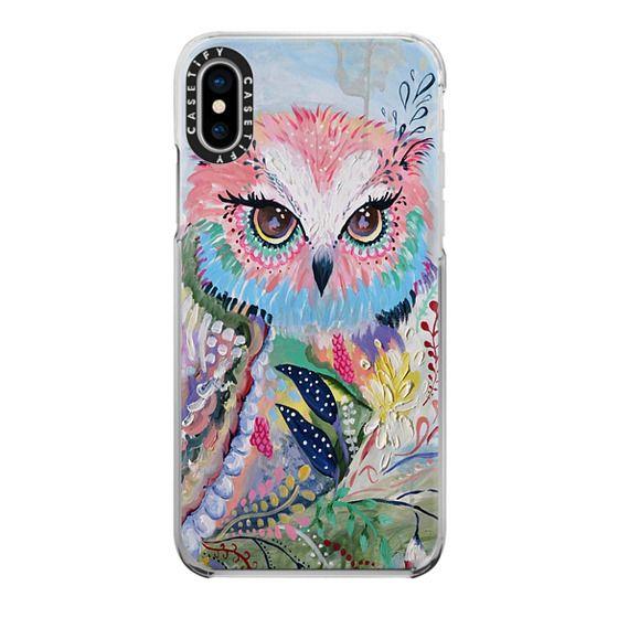 iPhone X Cases - wisdom in bloom - full