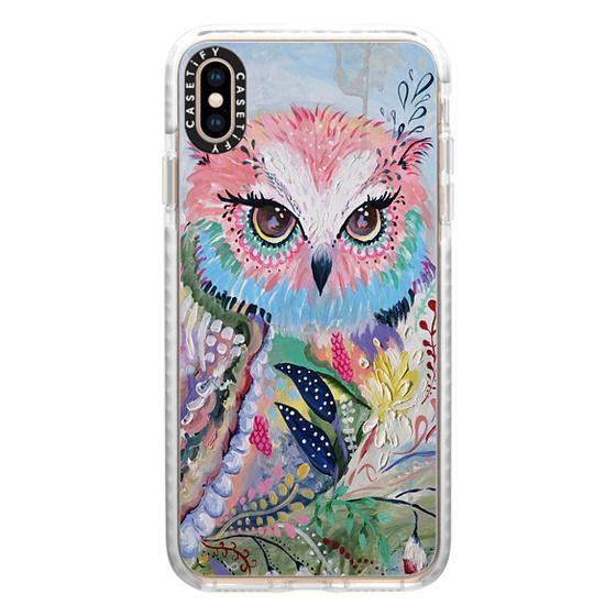 iPhone XS Max Cases - wisdom in bloom - full