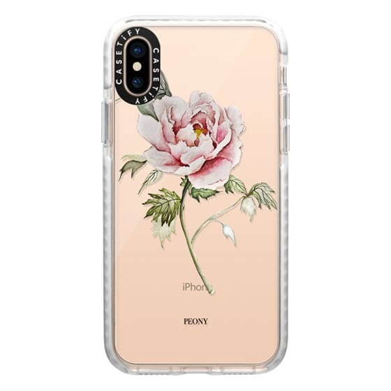 iPhone XS Cases - PEONY