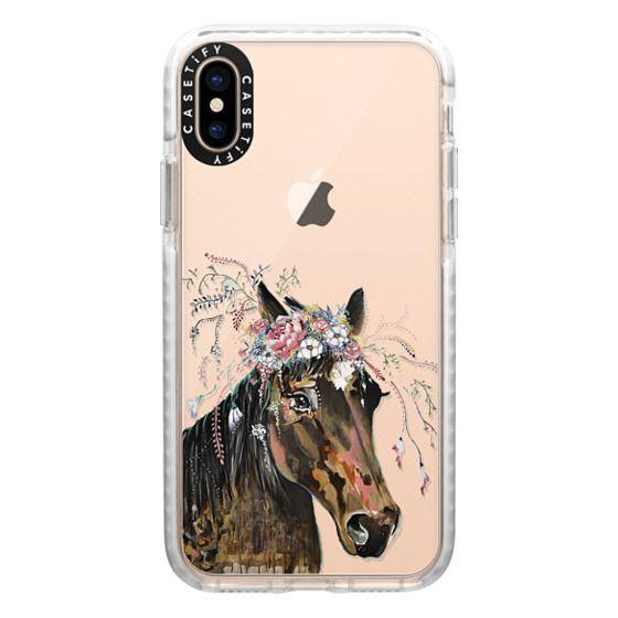 iPhone XS Cases - Murphy in Bloom