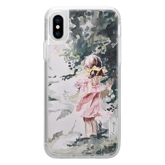 iPhone X Cases - Wildflower