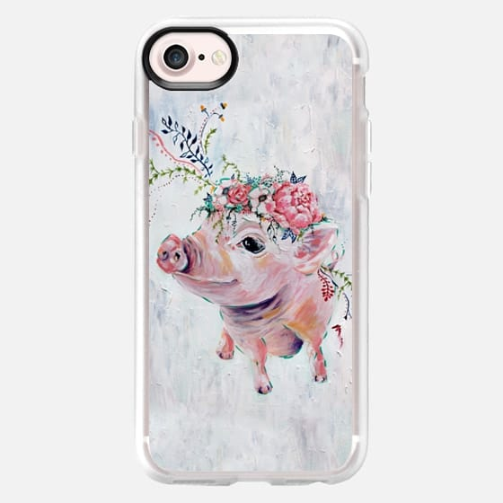 Pearl the Pig - Full Image - Snap Case