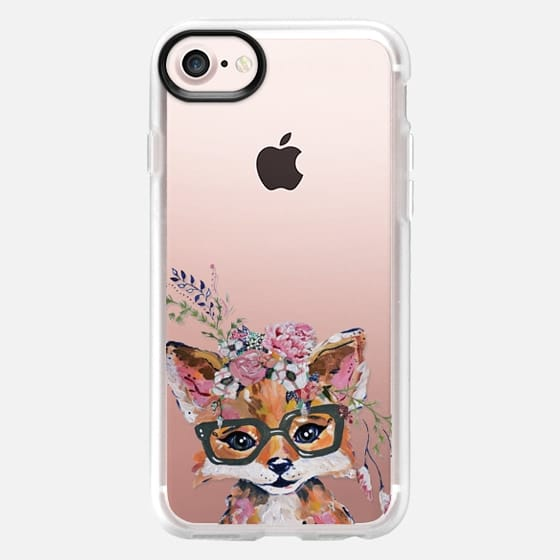 Hipster Fox in Bloom - Snap Case