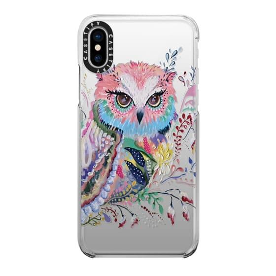 iPhone X Cases - wisdom in bloom
