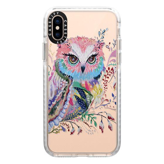 iPhone XS Cases - wisdom in bloom