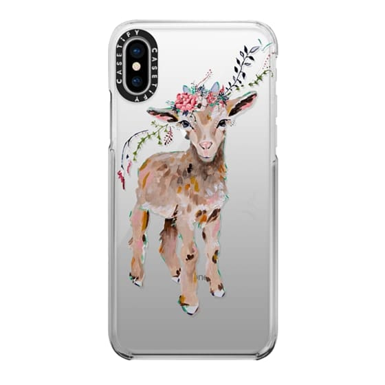 iPhone X Cases - Gertie the Goat - Live Sweet Series