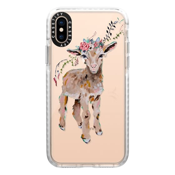 iPhone XS Cases - Gertie the Goat - Live Sweet Series
