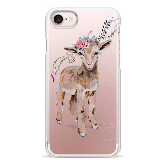 iPhone 7 Cases - Gertie the Goat - Live Sweet Series