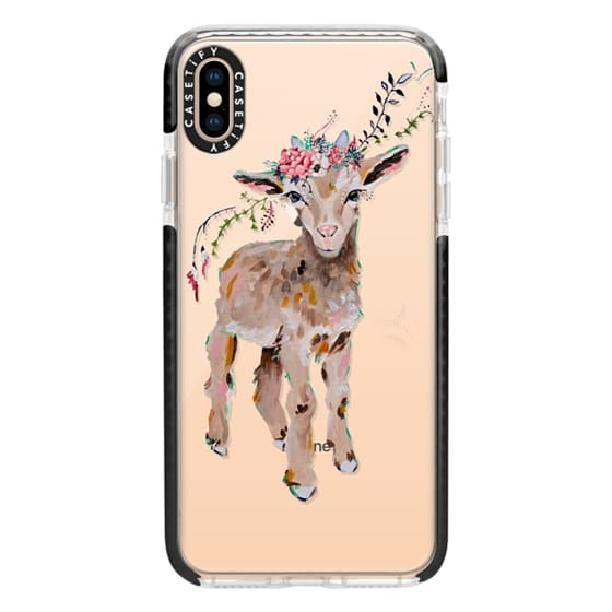 iPhone XS Max Cases - Gertie the Goat - Live Sweet Series