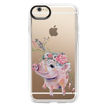 Grip iPhone 6 Case - Pearl the Pig - Live Sweet Series