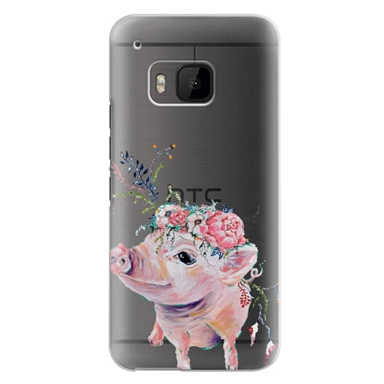Htc One M9 Cases - Pearl the Pig - Live Sweet Series