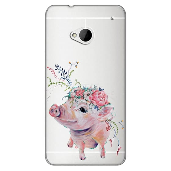 Htc One Cases - Pearl the Pig - Live Sweet Series