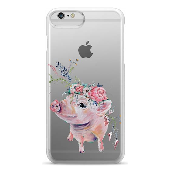 iPhone 6 Plus Cases - Pearl the Pig - Live Sweet Series