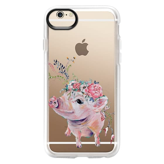 iPhone 6 Cases - Pearl the Pig - Live Sweet Series