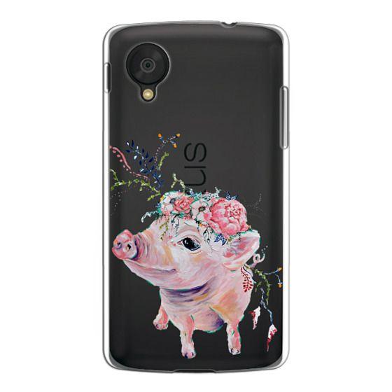 Nexus 5 Cases - Pearl the Pig - Live Sweet Series