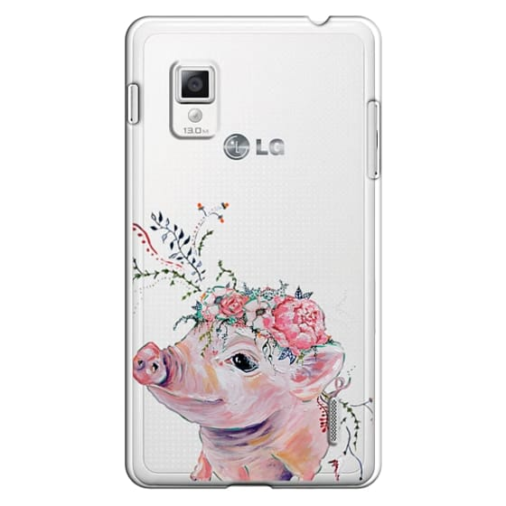 Optimus G Cases - Pearl the Pig - Live Sweet Series